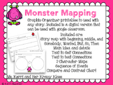 Monster Mapping: Reading Responses Printable and Google Classroom