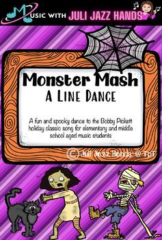 Monster Mash Line Dance