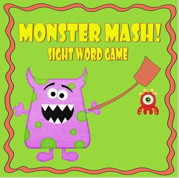 Monster Mash Sight Word Game