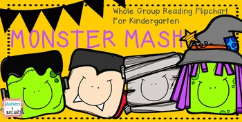 Monster Mash Whole Group Flipchart for Kindergarten