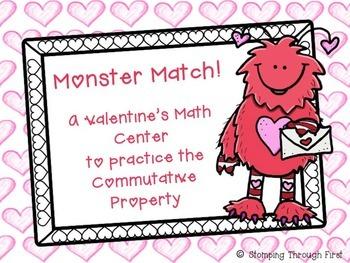 Monster Match Valentine's FREEBIE!