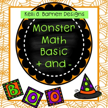 Monster Math Basic Addition and Subtraction Practice