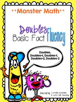 DOUBLES FACT FLUENCY: Doubles, Doubles +1, -1, +2 and -2 BUNDLE