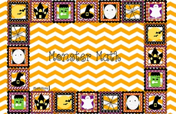 Monster Math- Differentiated Math Center Game