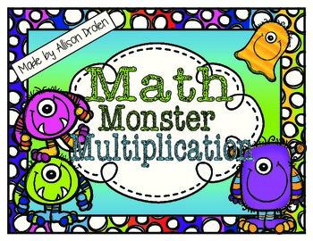 Math Monster Multiplication