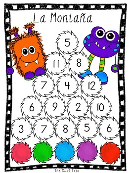Monster Math - SPANISH