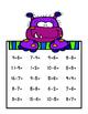 Monster Math Touch Math Mats