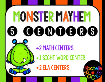 Monster Mayhem 5 Centers
