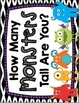 Halloween Measuring -- How Many Monsters Tall Are You? --