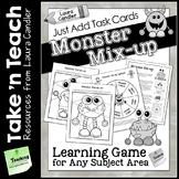 Monster Mix-up Game (Take 'n Teach Version)