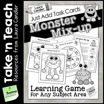 Monster Mix-up Game (Take 'n Teach Version)