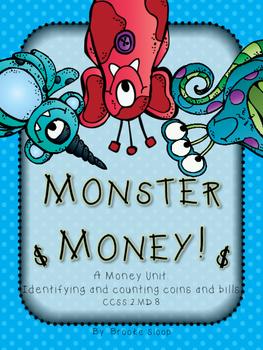 Monster Money: CCSS 2.MD.8