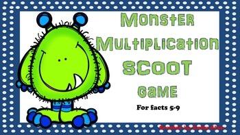 Monster Multiplication SCOOT Game