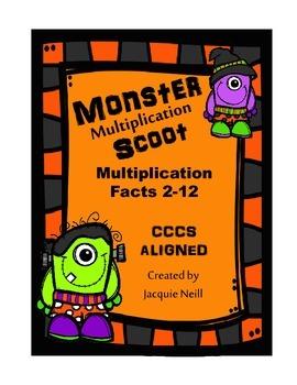 Monster Multiplication Scoot