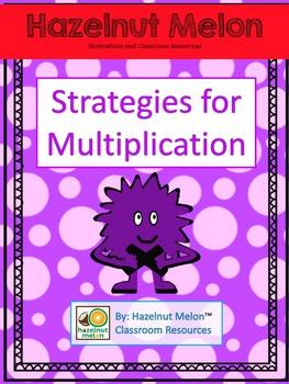 Monster Multiplication Strategies Poster