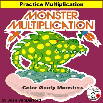 Multiplication | PROBLEMS | COLOR MONSTER MATH  | Early Fi