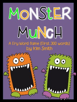 Monster Munch: A Fry Word Game (First 300 Words)