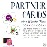Partner & Group Cards: Monster