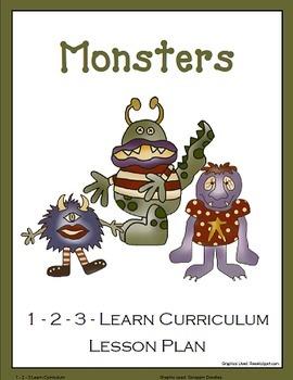 Monster Preschool Bundled Set