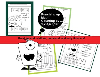 Monster Punch! Build Skip Count Fluency