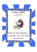 Monster Reading Comprehension Class Display Posters