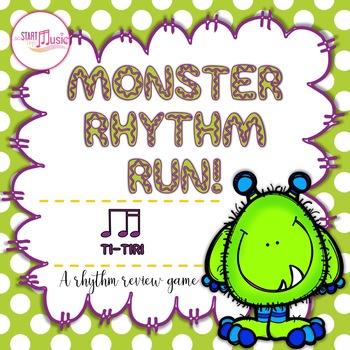 Monster Rhythm Run - Ti-Tiri