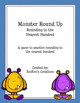 Monster Round Up Nearest Hundred