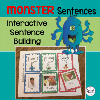 Monster Sentences: Interactive Sentence Building