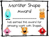 Monster Shape Award