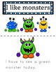 Monster Sight Word Fluency Pages and Book (by Priscilla Be