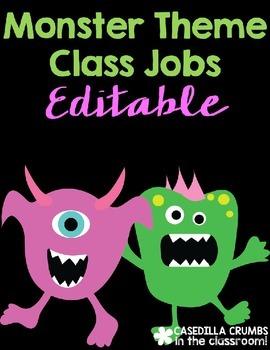 Monster Space Themed Theme Jobs Decor