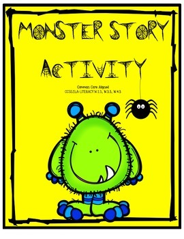 Halloween Monster Story Activity