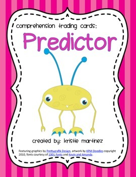 Monster Strategies {Making Predictions} - Collect Them All!