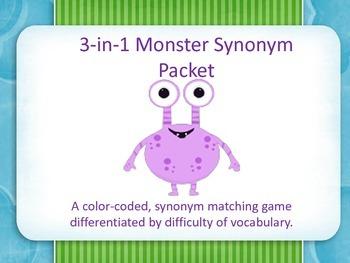 Synonym Monster Pack