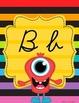 Monster Theme Alphabet Poster Bundle – 3 Complete Sets
