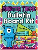 Monster Theme Bulletin Board Kit