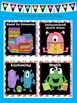 Monster Theme Classroom Set