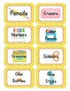 Monster Themed Classroom Supply Tags