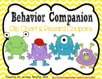 Monster Themed Clip Chart - use with Class Dojo!