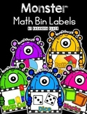 Monster Themed Math Labels