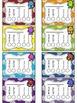 Monster Themed Punch Card Sampler