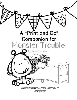 MustHave Monster Trouble: A Print and Go Sp/Lang Companion