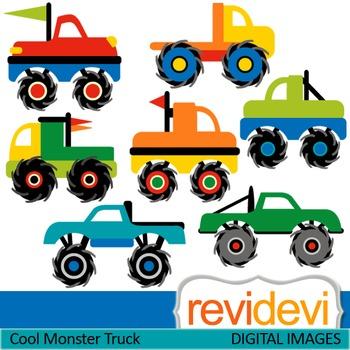 Monster Trucks Clip art