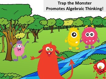 Monster Variables - Pre Algebra Thinking for Young Learners