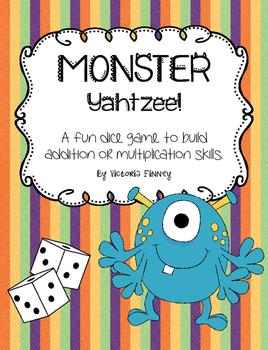 Monster Yahtzee