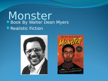 Monster by Walter Dean Myers Presentation