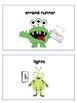 Monster/Alien themed Job Cards