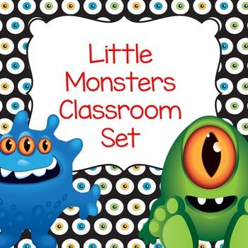 Monsters Classroom Set