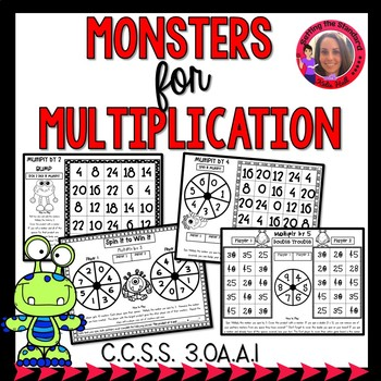 Multiplication Game Print & Play- Basic Facts 2-10