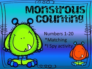 Monstrous Counting